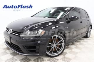 Used 2017 Volkswagen Golf R AWD *M6 *292HP *TECH-PKG *CLUTCH-NEUF! for sale in Saint-Hubert, QC