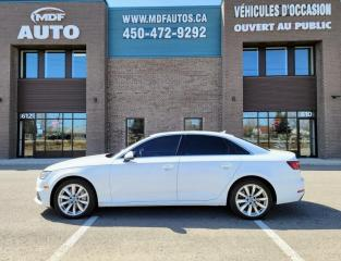 Used 2018 Audi A4 2.0 TFSI Komfort quattro S tronic for sale in St-Eustache, QC