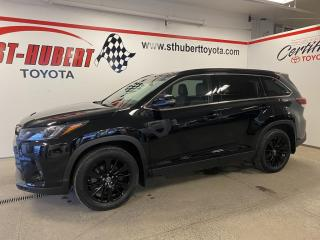 Used 2019 Toyota Highlander AWD SE TOIT OUVRANT, NAVIGATION, CUIR for sale in St-Hubert, QC