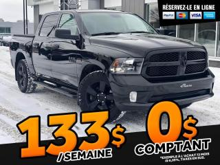 Used 2017 RAM 1500 Black Express - Bas KM - Crew Cab for sale in Ste-Marie, QC