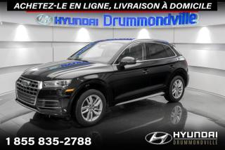 Used 2018 Audi Q5 KOMFORT QUATTRO + GARANTIE + CUIR + WOW for sale in Drummondville, QC