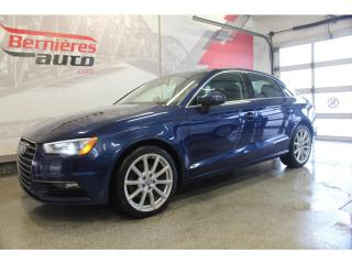 Used 2016 Audi A3 Komfort 2.0t Quattro for sale in Lévis, QC