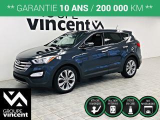 Used 2013 Hyundai Santa Fe LIMITED AWD CUIR GPS TOIT ** GARANTIE 10 ANS ** Un VUS tout équipé à bas prix! for sale in Shawinigan, QC