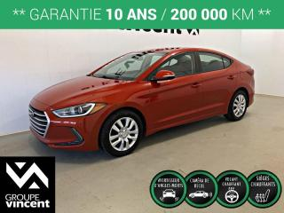 Used 2017 Hyundai Elantra GL ** GARANTIE 10 ANS ** Fiable et économique! for sale in Shawinigan, QC
