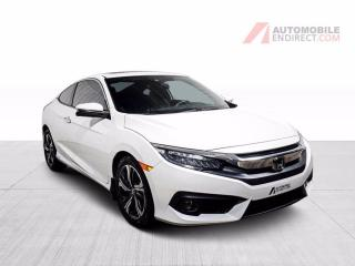 Used 2018 Honda Civic COUPE TOURING CUIR TOIT NAV for sale in St-Hubert, QC