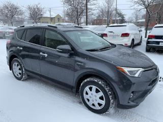 Used 2016 Toyota RAV4 Hybrid AWD Limited for sale in Longueuil, QC