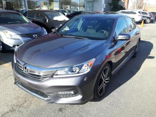 Used 2016 Honda Accord Sport CUIR * TOIT * CAMERA * SIEGE CHAUFFANT for sale in Longueuil, QC