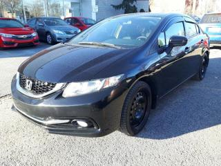 Used 2015 Honda Civic TOURING CUIR GPS TOIT BAS MILLAGE for sale in Longueuil, QC