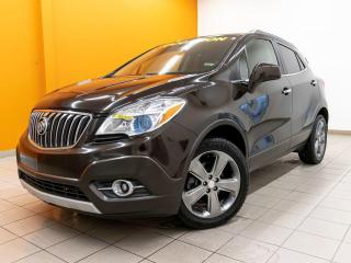 Used 2013 Buick Encore CUIR AWD *NAVI* TOIT *SIEGES CHAUFF* BOSE *PROMO for sale in St-Jérôme, QC