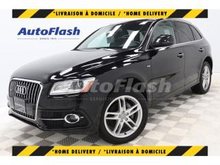 Used 2017 Audi Q5 2.0T PROGRESSIV *S-LINE *GPS/CAMERA *TOIT-PANO for sale in St-Hubert, QC