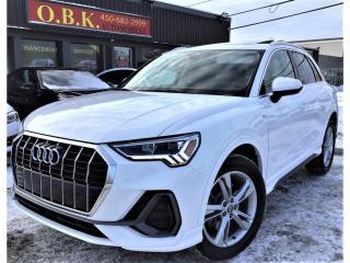 Used 2020 Audi Q3 Progressiv-S LINE-45 TFSI-Quattro-Cam Recul-Blueto for sale in Laval, QC
