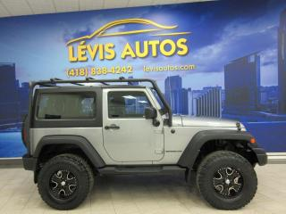 Used 2016 Jeep Wrangler SPORT 72200KM JAMAIS ACCIDENTE BEAUCOUP for sale in Lévis, QC