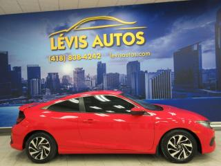 Used 2017 Honda Civic LX COUPE MANUEL 6 VITESSES 87300 KM TOUT for sale in Lévis, QC