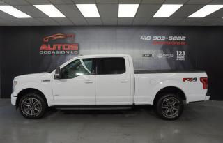 Used 2017 Ford F-150 SPORT FX4 OFF ROAD 4X4 + ECOBOOST 3.5L + TOIT PANO for sale in Lévis, QC