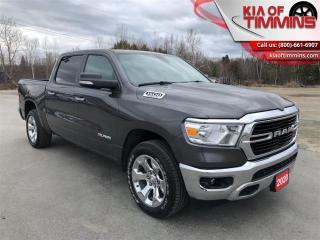 Used 2020 RAM 1500 Big Horn  Heated Steering Wheel Crew Cab for sale in Timmins, ON