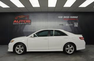 Used 2011 Toyota Camry SE SPORT AUTO FULL ÉQUIPÉ MAGS SIÈGE 190 374 KM !! for sale in Lévis, QC