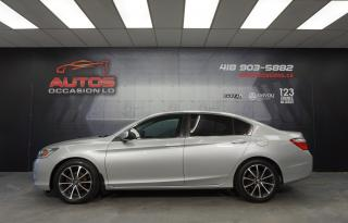 Used 2015 Honda Accord LX MANUEL 6 VITESSES MAGS SIÈGES CAMERA BLUETOOTH for sale in Lévis, QC