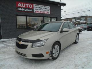 Used 2013 Chevrolet Cruze LT for sale in St-Hubert, QC