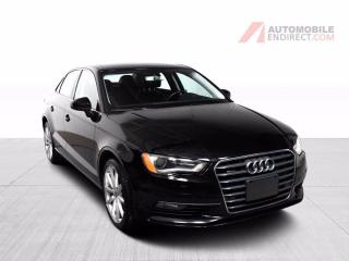 Used 2016 Audi A3 TECHNIK QUATTRO GPS CUIR TOIT CAMÉRA DE RECUL AIR for sale in Île-Perrot, QC