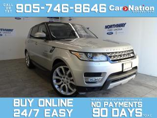 Used 2016 Land Rover Range Rover Sport TD6 HSE | DIESEL | 4X4 |PANO ROOF | NAV| 22'' RIMS for sale in Brantford, ON