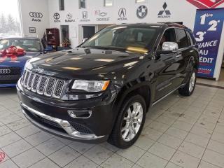 Used 2016 Jeep Grand Cherokee SUMMIT / 4RM / DIESEL / CUIR / TOIT PANO for sale in Sherbrooke, QC