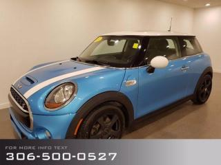 Used 2015 MINI Cooper Hardtop S, Sport Hatchback, Low Km's, Fun to Drive! for sale in Moose Jaw, SK