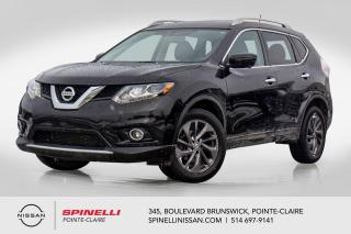 Used 2016 Nissan Rogue SL AWD NAVIGATION / CUIR / TOIT PANORAMIQUE / AWD for sale in Montréal, QC