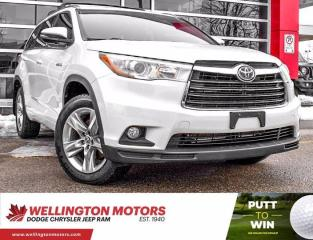 Used 2016 Toyota Highlander HYBRID Limited--> 3rd Row Seating --> Hybrid !! for sale in Guelph, ON