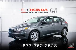 Used 2018 Ford Focus SE + A/C + AUTO + HATCHBACK + MAGS + WOW for sale in St-Basile-le-Grand, QC