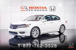 Used 2015 Honda Accord TOURING + NAVI + CUIR + TOIT + MAGS + WO for sale in St-Basile-le-Grand, QC
