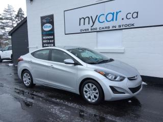 Used 2016 Hyundai Elantra GL HEATED SEATS, BACKUP CAM, POWERGROUP!! for sale in North Bay, ON