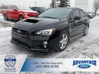 Used 2015 Subaru WRX STI Sport-tech Package AWD - TWO SETS OF TIRES/RIMS for sale in Calgary, AB