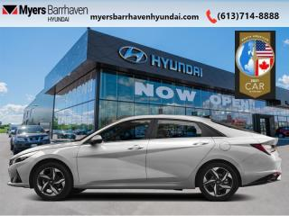 New 2021 Hyundai Elantra Ultimate  Tech IVT  - Leather Seats - $180 B/W for sale in Nepean, ON