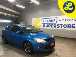 Used 2013 Ford Focus SE * Navigation * Cruise Control * Steering Wheel Controls * Hands Free Calling * MicroSoft Sync * Heated Cloth Seats *  2.0 4 Cylinder Flex Fuel * Du for sale in Cambridge, ON