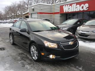 Used 2012 Chevrolet Cruze 2LT Sunroof RS pkg for sale in Ottawa, ON
