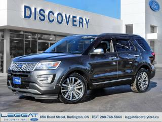 Used 2017 Ford Explorer Platinum for sale in Burlington, ON
