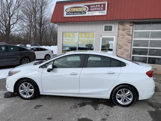 Used 2018 Chevrolet Cruze LT AUTO for sale in Morrisburg, ON