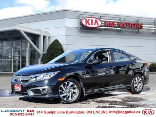 Used 2018 Honda Civic EX | 1OWNER | OFFLEASE | HONDASENSE | NOACCIDENTS for sale in Burlington, ON