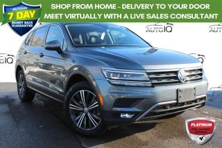 Used 2019 Volkswagen Tiguan Highline 7 passenger leather pano roof navi awd for sale in Hamilton, ON