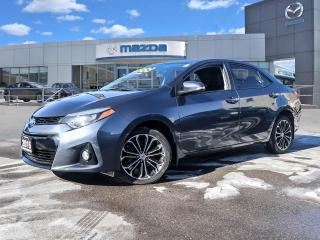 Used 2016 Toyota Corolla S Premium Upgrade package- **ONE OWNER, LOCAL VEHICLE, EXCELLENT CONDITION ** for sale in Hamilton, ON