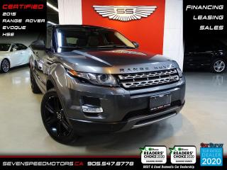 Used 2015 Land Rover Evoque PURE CITY HSE | CERTIFIED | FINANCE | 9055478778 for sale in Oakville, ON