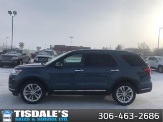 Used 2018 Ford Explorer Limited  - Sunroof -  Navigation for sale in Kindersley, SK