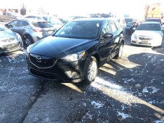 Used 2013 Mazda CX-5 GT/NAV/CAM/BLINDSP/SUNROOF/LEATHER/NOACC/CERTIFIED for sale in Toronto, ON