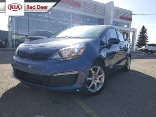 Used 2016 Kia Rio LX, Manual, Bluetooth, Steering Wheel Controls, Cruise, 2 Sets o for sale in Red Deer, AB