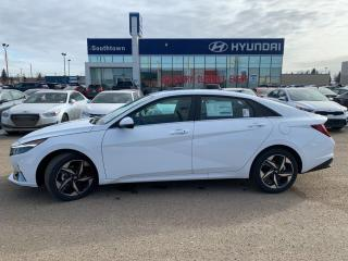 New 2021 Hyundai Elantra Ultimate - Leather/Fwd Collision w/ Cyclist & Junction/Adaptive Cruise/Bose Prem Sound for sale in Edmonton, AB