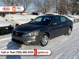 Used 2015 Nissan Altima 2.5 S; A/C, BACKUP CAMERA, BUTTON START, BLUETOOTH for sale in Edmonton, AB
