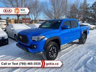 Used 2020 Toyota Tacoma TRD OFFROAD PREMIUM; SUNROOF, 4X4, HEATED SEATS, LEATHER, NAV, TONNEAU COVER, BACKUP CAMERA, BLIND SPOT, BUTTON START, 3M, BLUETOOTH for sale in Edmonton, AB