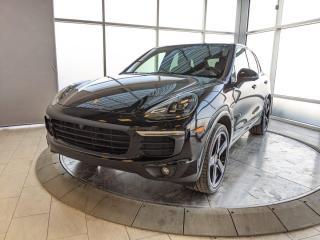 Used 2018 Porsche Cayenne Hybrid Platinum Edition | CPO | Ext. Warranty | Premium Plus for sale in Edmonton, AB