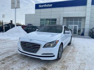 Used 2015 Hyundai Genesis Sedan ULTIMATE/5.0L V8/NAV/PANO ROOF/RARE ALL OPTIONS for sale in Edmonton, AB