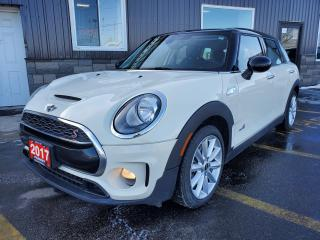 Used 2017 MINI Cooper Clubman S AWD-LEATHER-SUNROOF-HEATED SEATS-BLUETOOTH for sale in Tilbury, ON